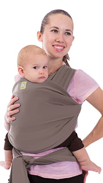 Amazon Com Baby Wrap Carrier By Keababies All In 1 Stretchy Baby