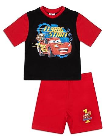 Disney Cars Shortie Pyjamas Boys Official Short Pyjama Set (3-4 Years) 7ccb4cc12