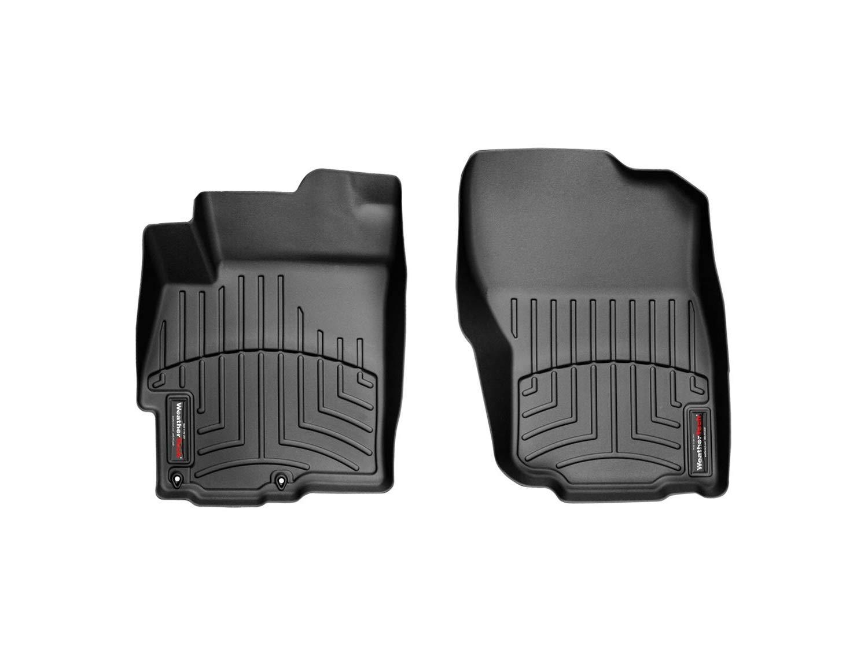 WeatherTech Custom Fit Front FloorLiner for Mitsubishi Lancer Black