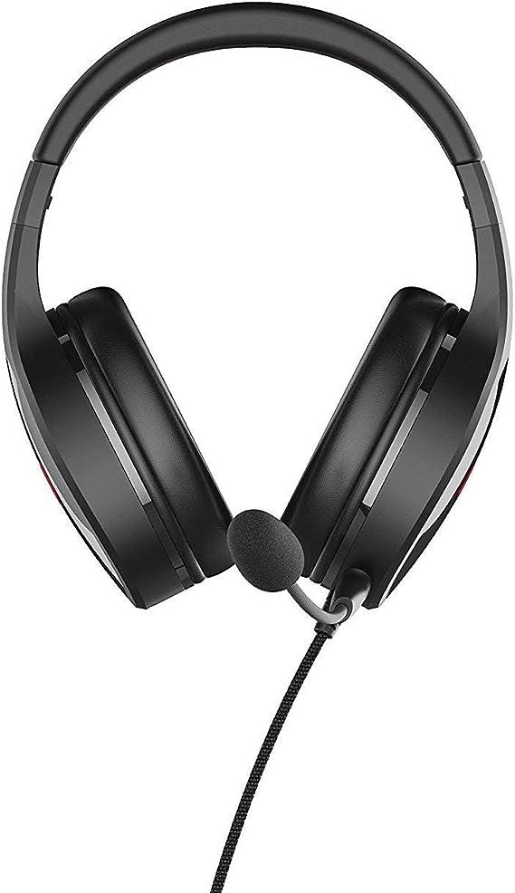 Lioncast LX20 Auriculares con Micrófono (PC/Juegos, Binaural, Diadema, Negro, Rojo, PC, PS4 (Pro), Xbox One (S/X), Alámbrico): Amazon.es: Informática