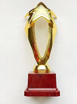 Trofeos Deportivos, Premios ,Copas Para Regalar Plastico Color Oro (Estrellas Grande): Amazon.es: Deportes y aire libre