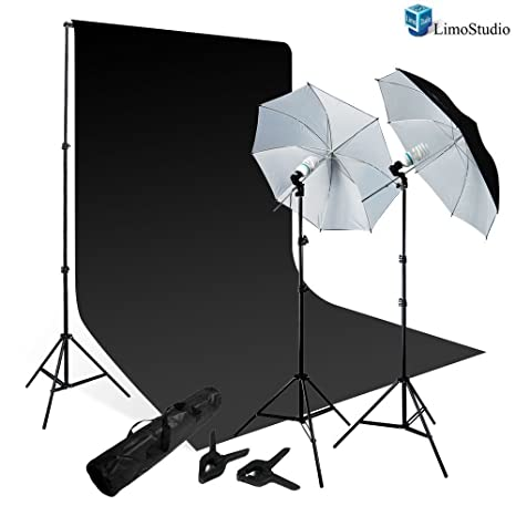 ba113ed8d43b LimoStudio 800-840W Photography Lighting Kit, Studio: Amazon.in ...