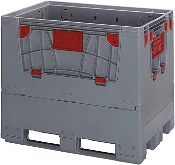 Caja plegable palet 1200 mm x 1000 mm x 1000 mm-: Amazon.es ...