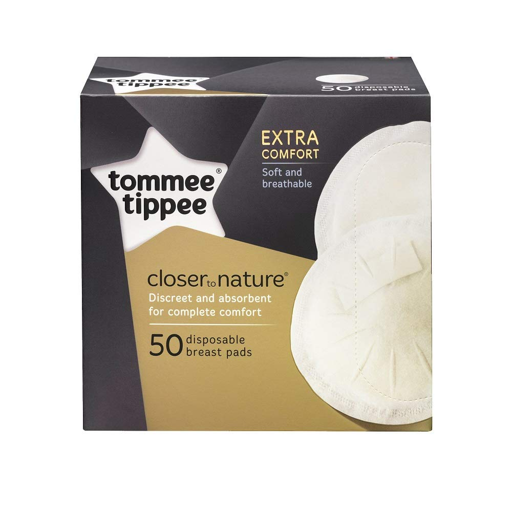 Tommee Tippee Closer To Nature 50 Disposable Breast Pads Free Shipping!