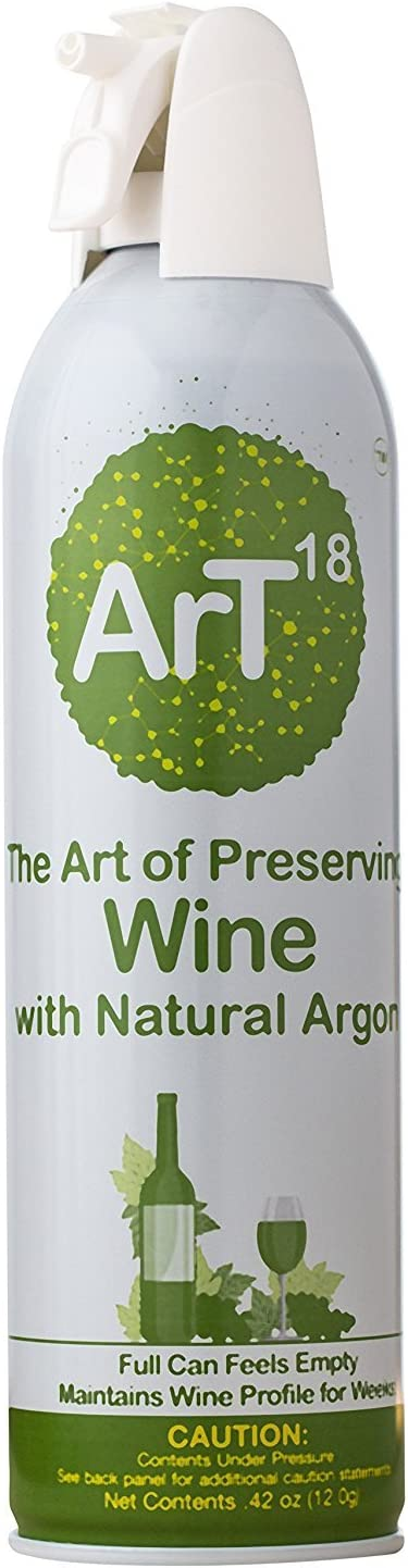ArT Wine Preserver | Enjoy Your Wine - Longer | Argon Wine Saver