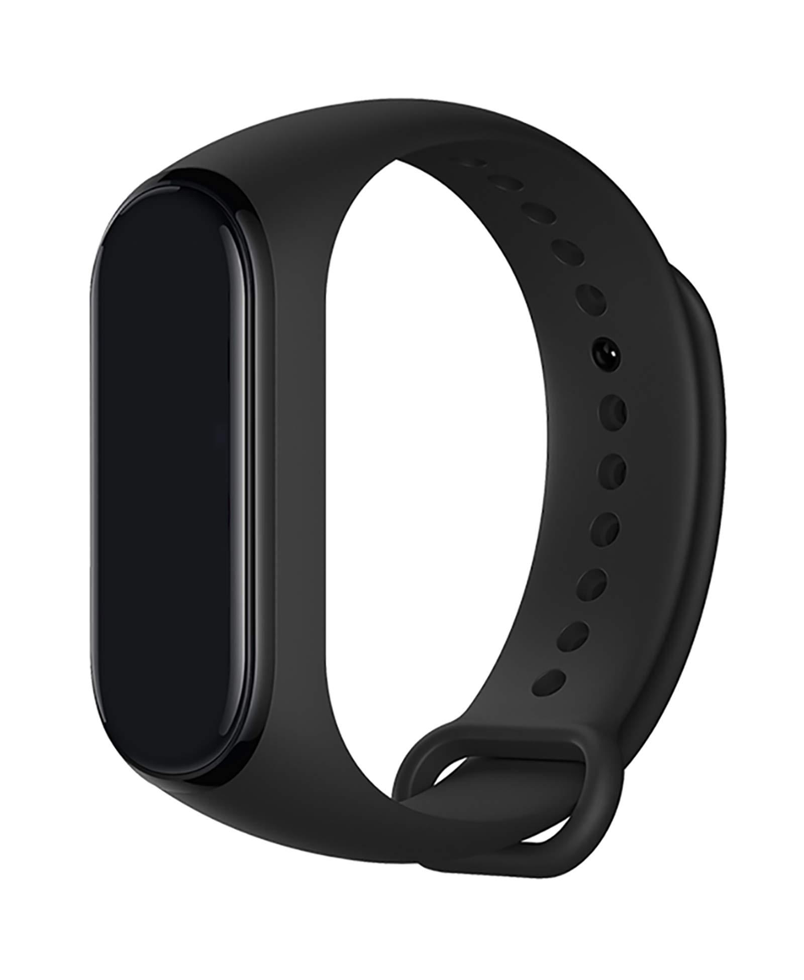 Maspen Strap for Xiaomi Mi Band 4 / Mi Band 3 Strap, Soft Silicone Replacement Strap Wristband WatchBand Accessories for Xiaomi Mi Band 3/4