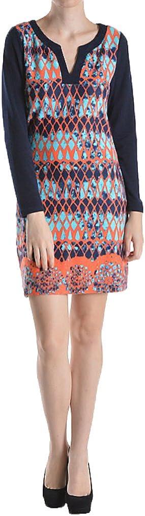 Aryeh Printed Knit Dress
