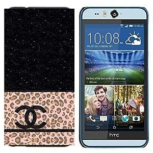 EJOOY---Cubierta de la caja de protección para la piel dura ** HTC Desire Eye M910x ** --Moda de ropa de marca Lux Estrellas