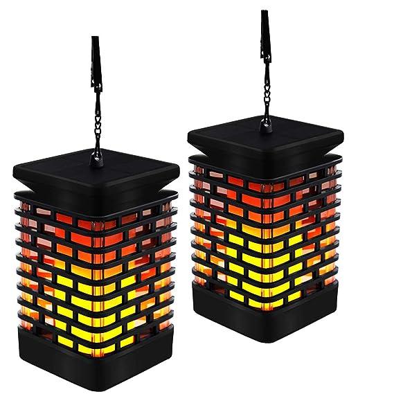 Review EOYIZW Solar Flame Lights