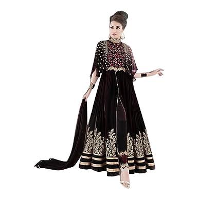 4c7028fef5a Amazon.com  NEW FASHION BOLLYWOOD DESIGNER ANARKALI SALWAR KAMEEZ GOWN LONG  WEDDING CEREMONY PARTY WEAR INDIAN MUSLIM WOMEN BY ETHNIC EMPORIUM 317   Clothing