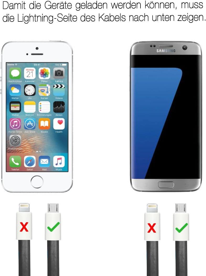 USB-C, Noir Porte cl/é USB c/âble magn/étique