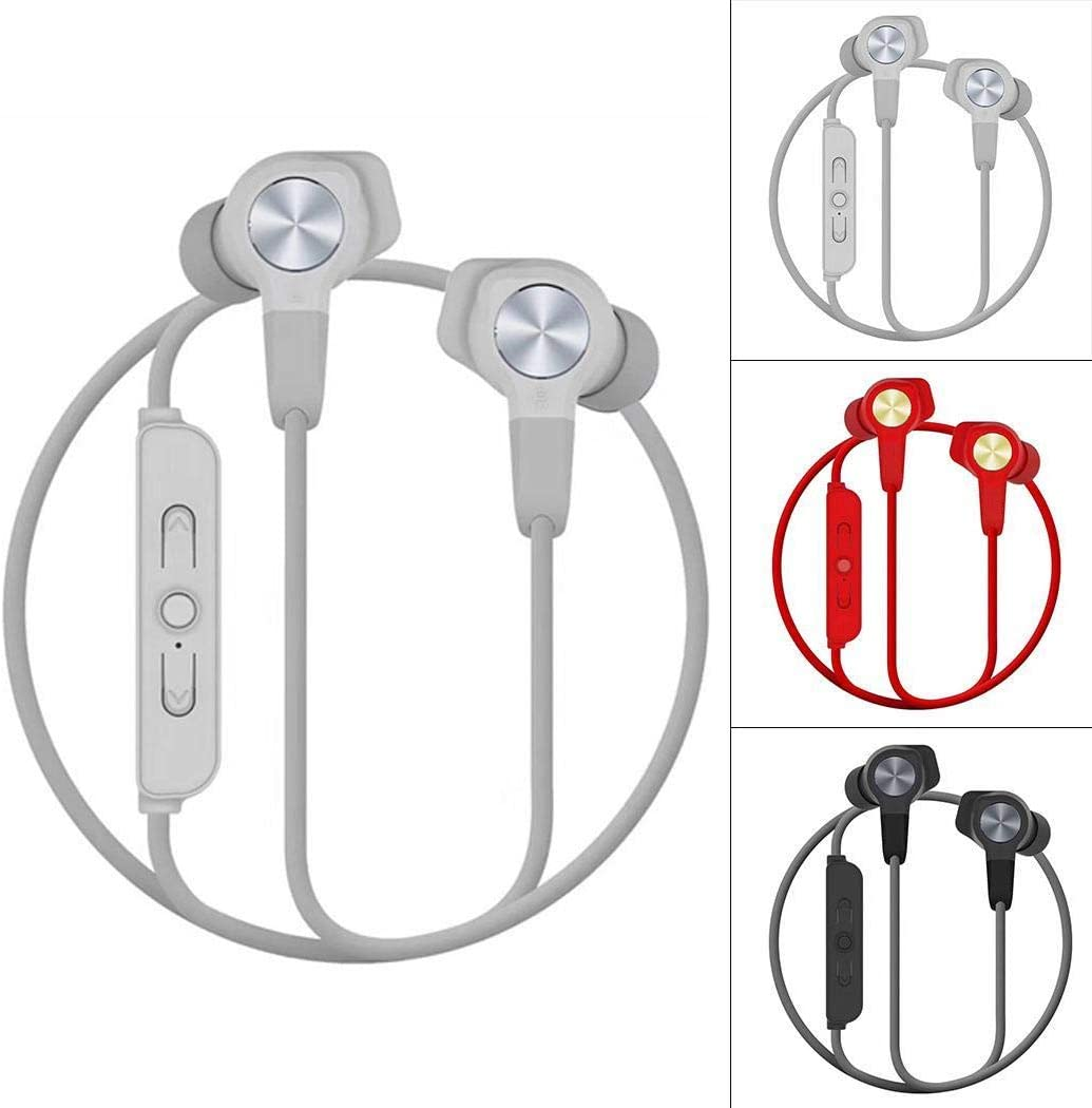 UpBeauty Wireless Magnetic Attraction Stereo Neck Hanging Earphone Bluetooth Headset Headphones