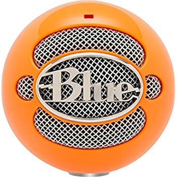 Blue Snowball USB Microphone (Bright Orange)