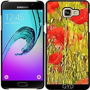 Funda para Samsung Galaxy A5 2016 (SM-A510) - Amapolas En El Prado by More colors in life