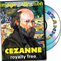 Cezanne, Over 100 High Resolution Digital Images, Royalty Free Collection DVD