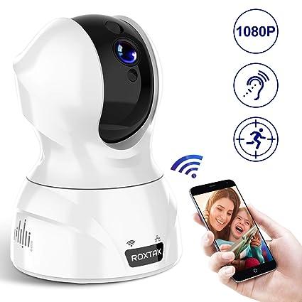 cámaras de vigilancia, cámaras en Domo, cámara IP WiFi Interior 1080P con HD visión