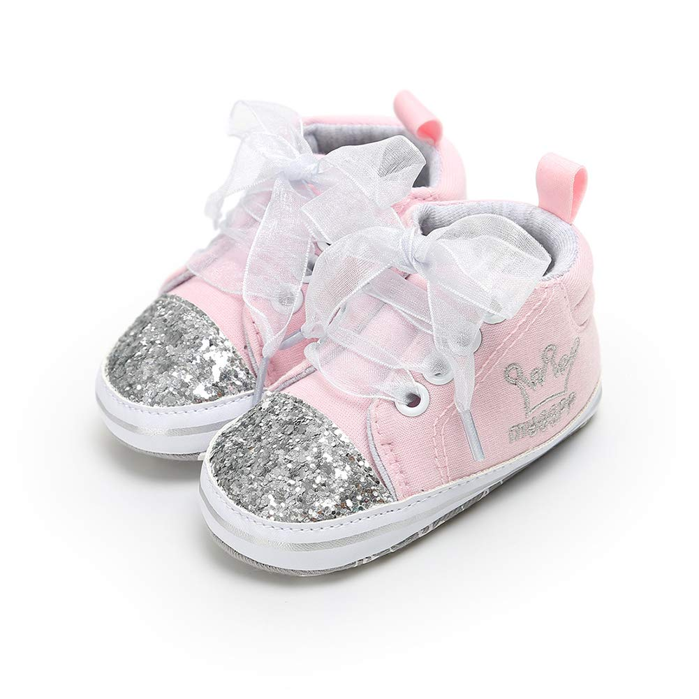 Guoainn Comfortable Baby Shoes Clearance Fashion Infant Baby Girl Bowknot Decor Soft Sole Prewalker Toddler Shoes Gift