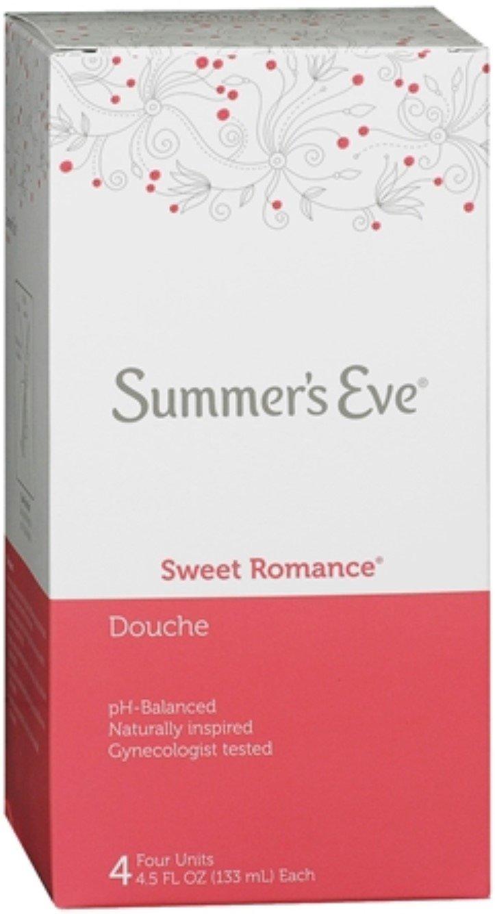 Summer's Eve Douche | Sweet Romance | 4-4.5 Fluid Ounces Each | Pack of 6 | pH Balanced & Gynecologist Tested by Summer's Eve