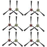 HKCH Side Brush 12 Pcs Replacement for Ecovacs Deebot M80 Pro M81 M81Pro M88 R95 R96