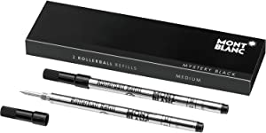MONTBLANC Rollerball Refill, M 2X1, Mystery Black (105158)