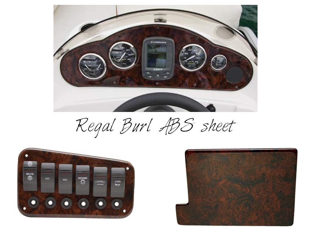 Amazon com: Boat Dash Panel Blanks, Boat Instrument Panel Blanks