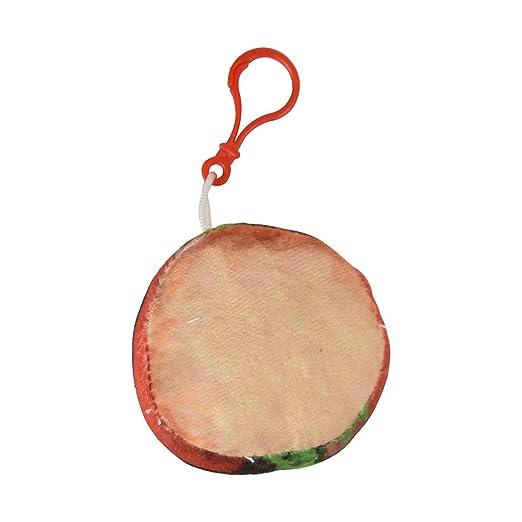 Amazon com: Plush Food Keychain Backpack Charm - Burger
