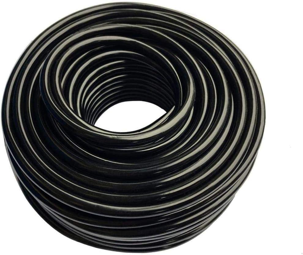 N+A ZILIM 100ft 1/4inch(7×4mm) Blank Distribution Tubing Drip Irrigation Hose Garden Watering Tube Line(100')