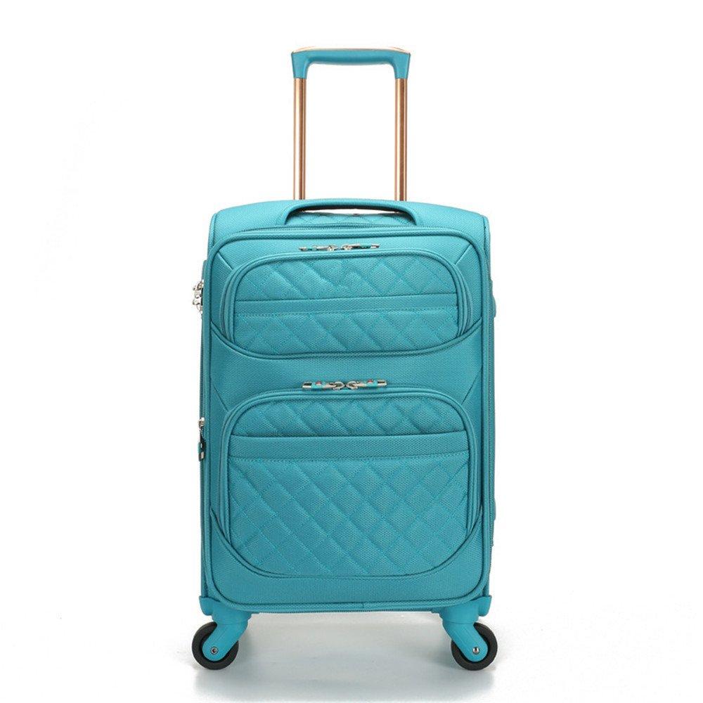 TLMYDD トローリーケース学生スーツケース荷物Oxley真鍮ボックス、20
