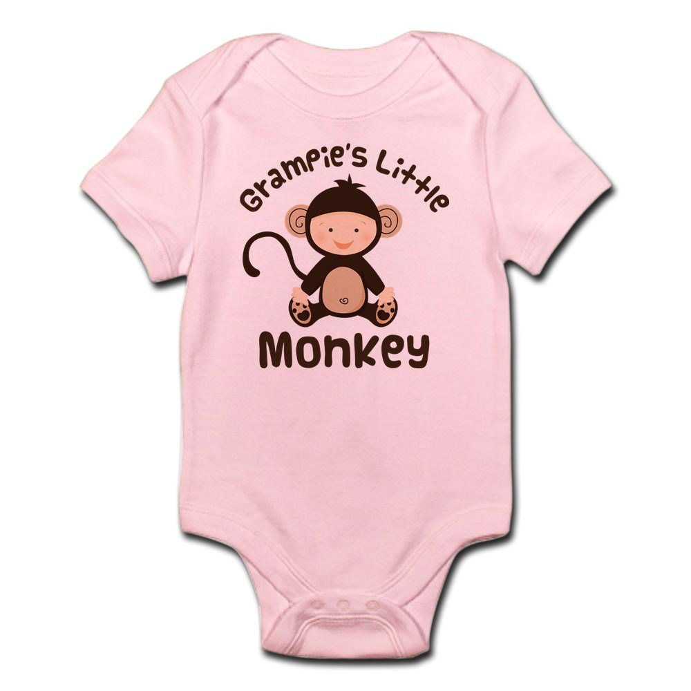 CafePress Grampie Grandchild Monkey Infant Baby Bodysuit