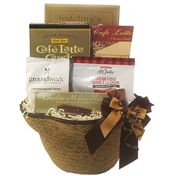 Amazon.com : Espresso Yourself Coffee Lovers Gift Basket : Gourmet ...
