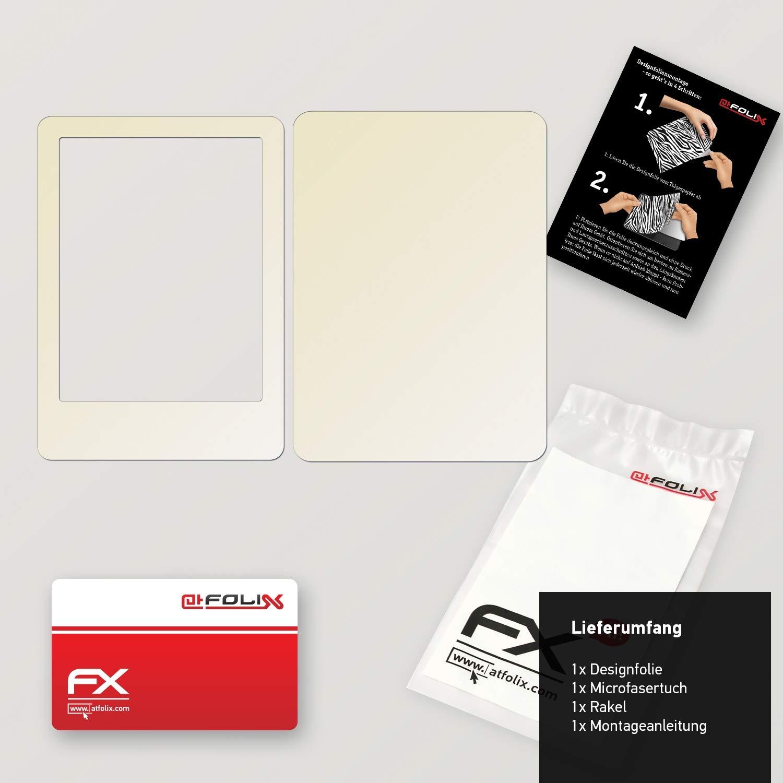 FX-Brushed-Black atFoliX Skin compatible with Amazn Kindl 7 Model 2014 Sticker Decal Brushed//Brush Structure