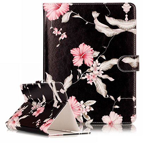 Nook Tablet 7 2016 Universal Tablet Case,Marble PU Leather Unique Design Flip Case Kickstand Universal Tablet Cover for…