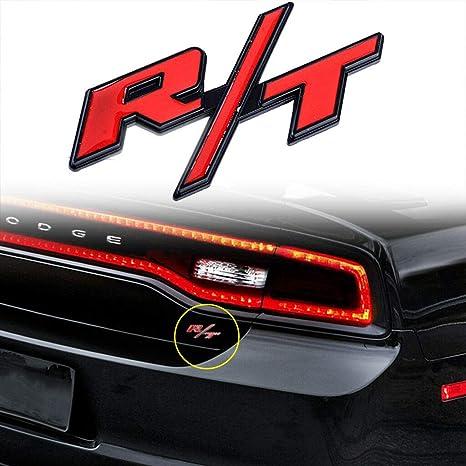 1 pieza RT R/T insignia emblema adhesivo para Mopar Hemi – Coches Dodge Charger