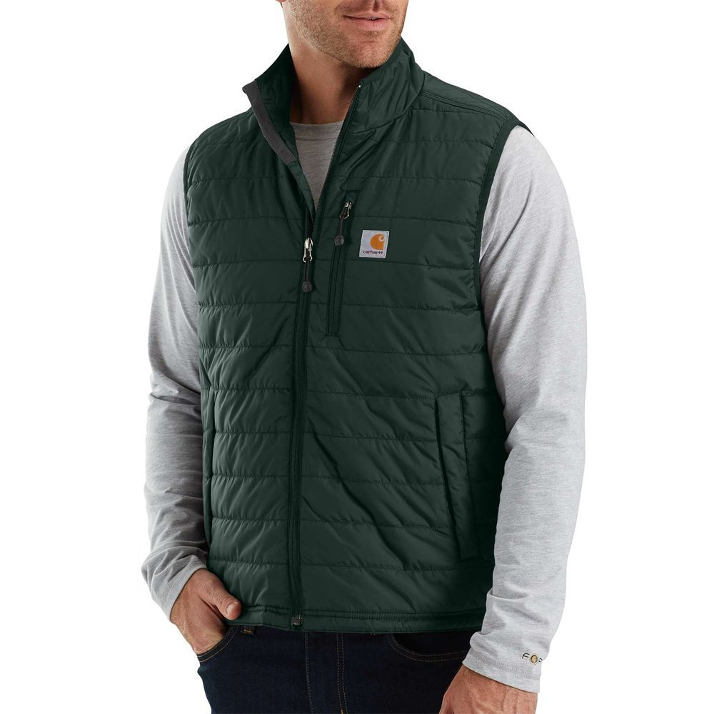 Carhartt Men's 102286 Gilliam Vest - Quilt Lined - Large - Canopy Green by Carhartt