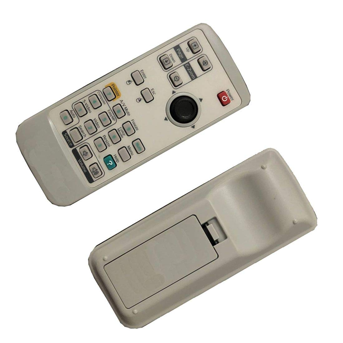 4EVER Replacment remote control for Epson Powerlite 905 96W 93 95 projector by 4EVER E.T.C