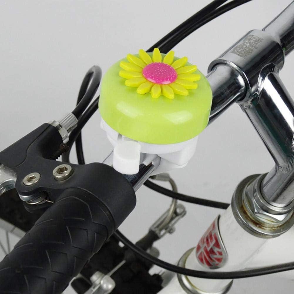 Fahrradklingel f/ür M/ädchen Sonnenblumenf/örmige M/ädchen Fahrradklingel Fahrrad Geile Kleinkind Fahrrad Glocken Geschenk f/ür Kinder Kinder Fahrradklingel