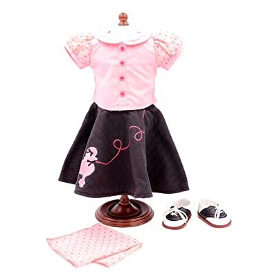 American Girl Maryellen's Poodle Skirt Outfit: Toys & Games