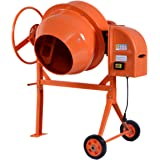 650W 140 litros eléctrica Mezclador de Hormigón Cemento Mortero mezcla máquina Portátil