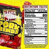 Slim Jim Pork Rinds Squealin' Hot Fried