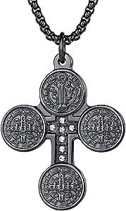 Sweepstakes: FaithHeart St. Benedict of Nursia Necklace