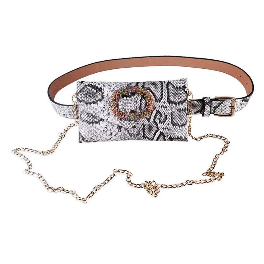 Bestehen Sie immer auf auf auf Erfolg Damen Elegante Leder Gürteltasche Damentaschen Kristallkranz PU-Taschen mit Metallkette abnehmbare Gürteltaschen Outdoor-Reisesporttasche Damen Mini Geldbörse B07PW3PQPZ Daypacks Moderate Kosten 7dc911