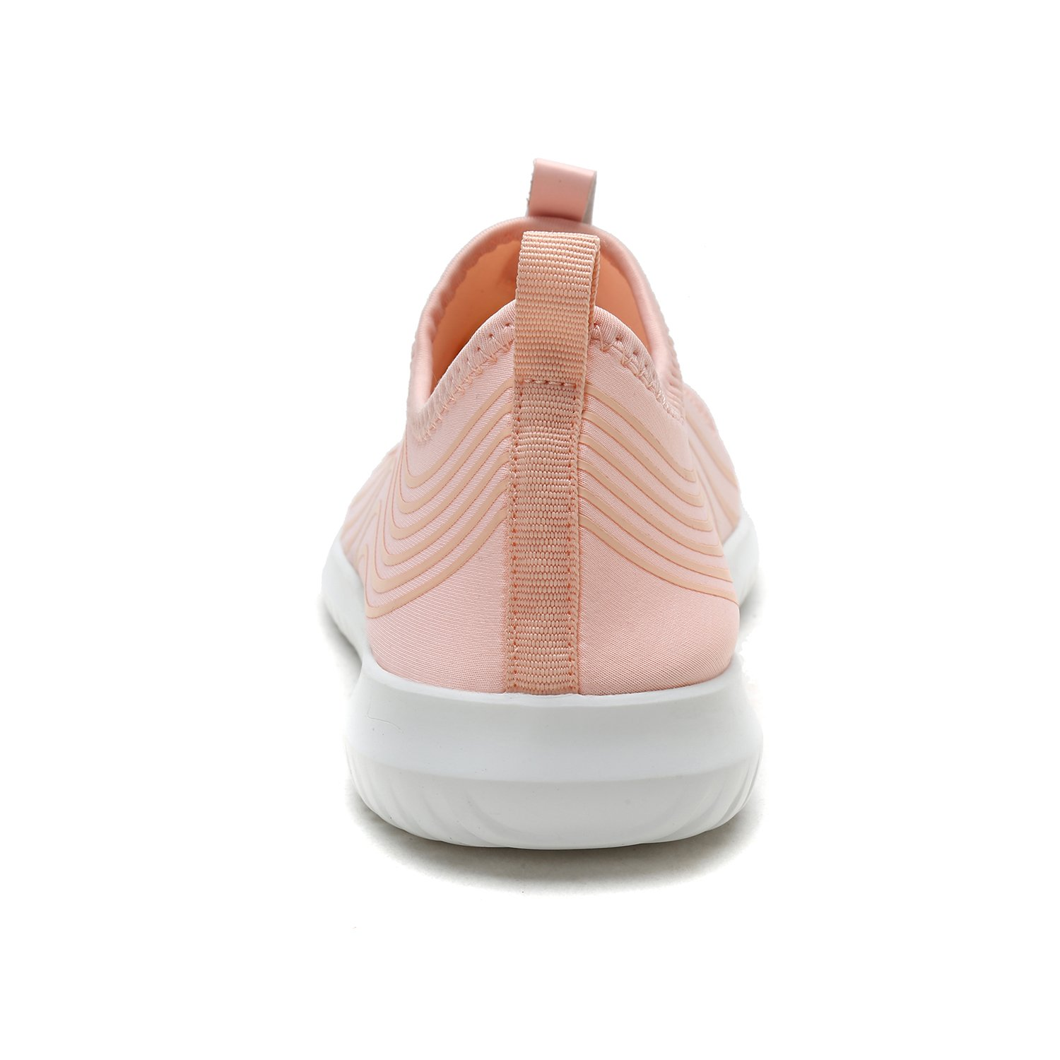 DREAM PAIRS Quick-Dry Water Shoes Sports Walking Casual Sneakers for Women B078876648 5 M US|Shell/Pink