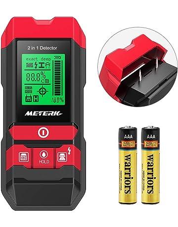 Detector de Pared, Meterk Multifuncional Electrónico Pinpoint Detector de Centro con LED/Advertencia Sonora