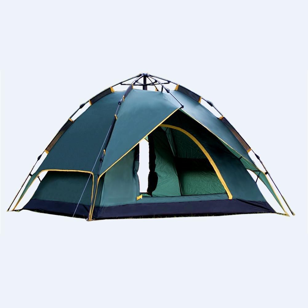 MIAO Outdoor Camping Drei Arten Automatische Zelte, Grün
