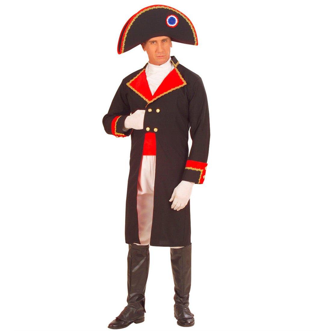 NET TOYS Napoleon Kostüm Militärkostüm General XL 54/56 Napoleon Offizierskostüm Offizier Kostüm Feldherr Soldat