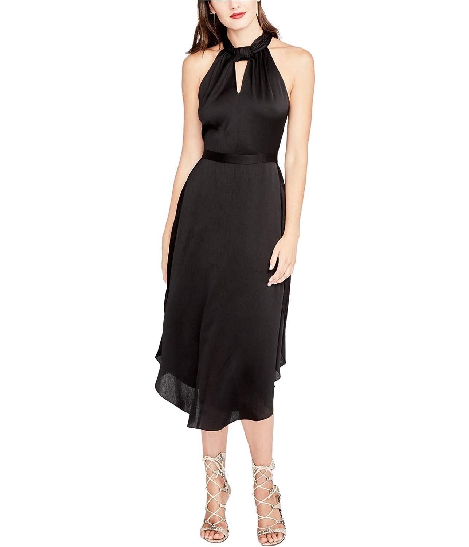 Black Rachel Roy Womens Twisted ALine Dress