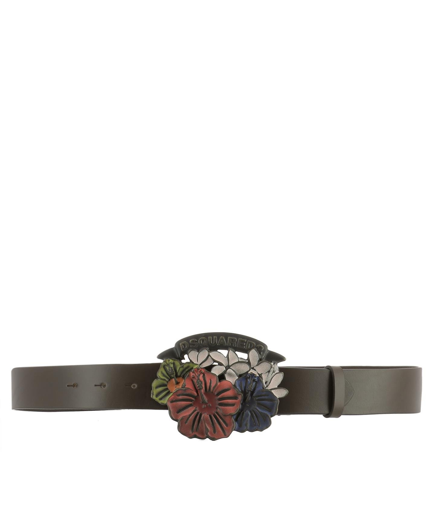Dsquared2 Women's Bew006914240001m198 Brown Leather Belt