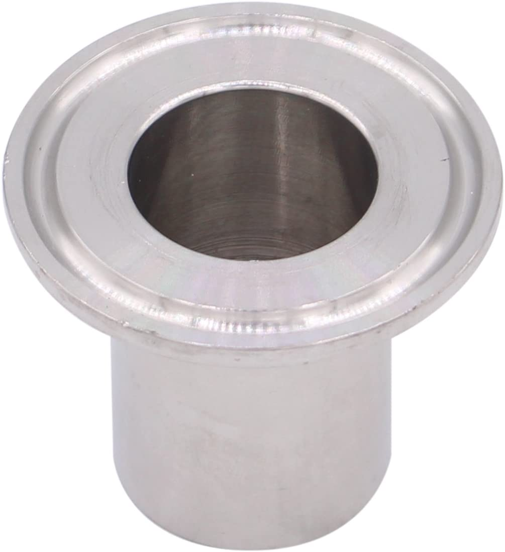 OD 50.5mm Ferrule DERNORD Sanitary Female Threaded Pipe Fitting to 1.5 Inch TRI CLAMP Pipe Size: 3//4 NPT