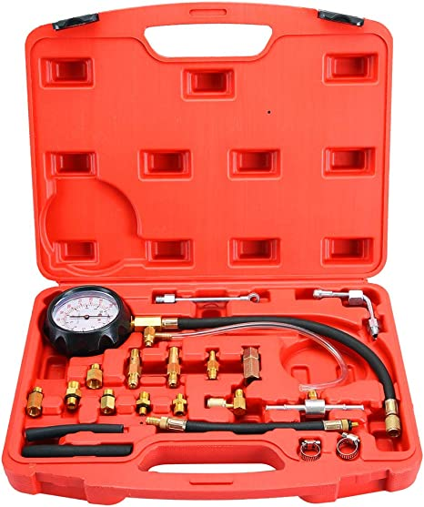 Orion MotorTech Professional Fuel System Pressure Gauge fuel Injection Pressure Test Gauge Automotive Fuel Pressure Testers