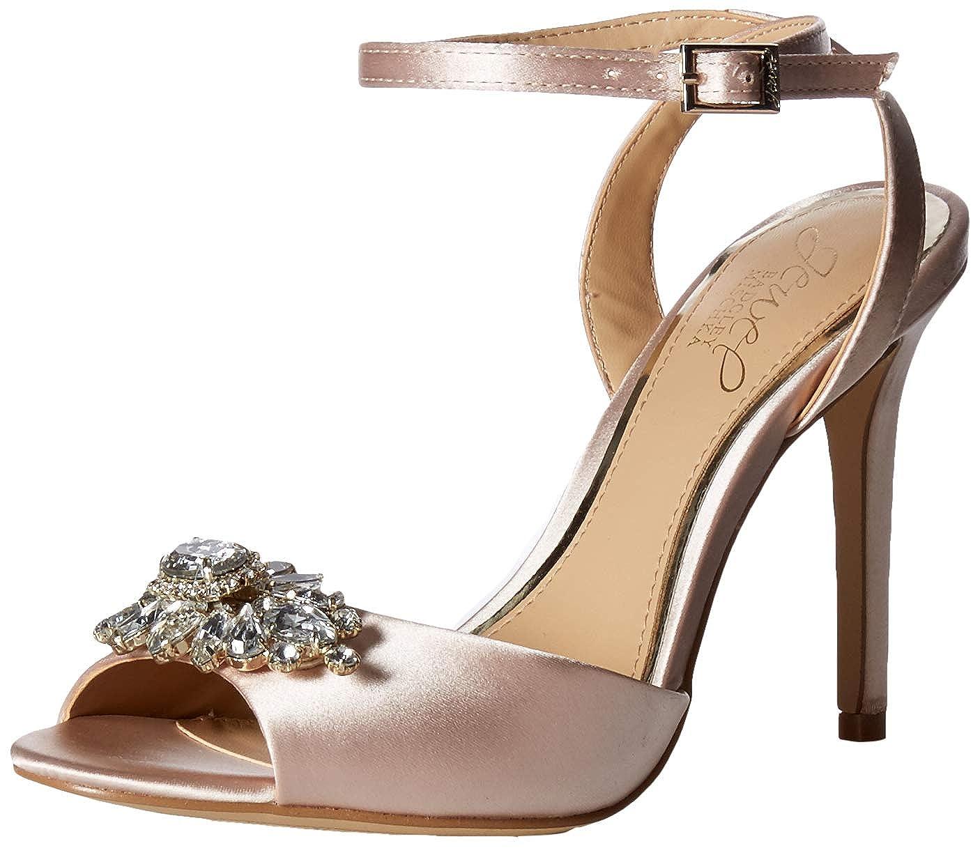 Champagne Badgley Mischka Womens Hayden Espadrille Sandal